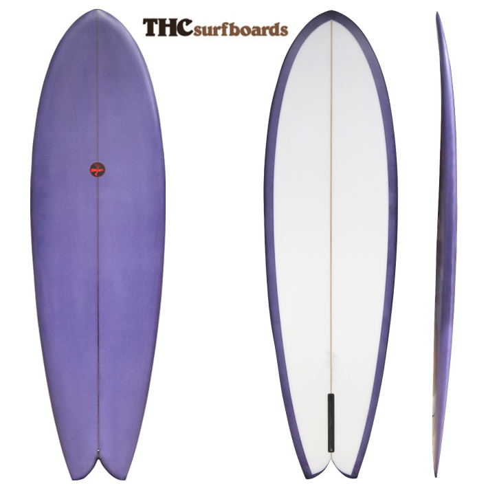 "THC SURFBOARDS   Joel Tudor ジョエル・チューダー Summer Skate 6'9"" Shaped By Hoy Runnel ※別途送料"