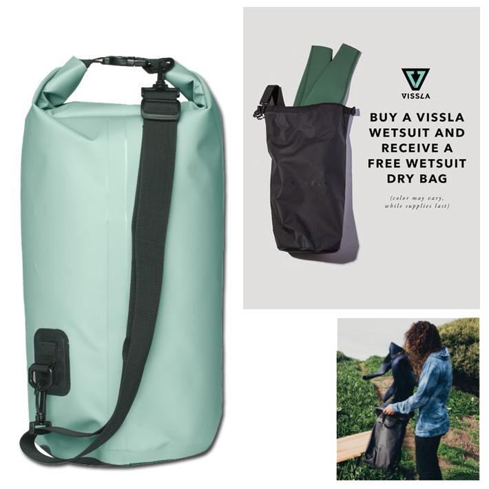VISSLA ヴィスラ 7Seas 20L Dry Bag MABGISEA18FA ドライバッグ ウェットバッグ ウェットケース サーフィン マリンスポーツ サーフギア ウェットスーツ