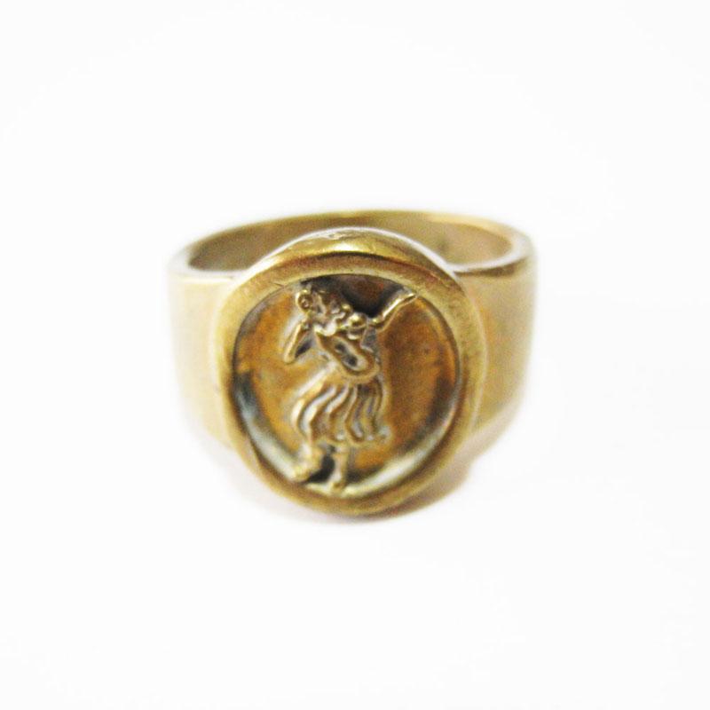 Brass Hura Ring