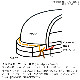 SWL[8593G]オイルドレザープレーンMIDブーツ ビブラムソールCRISTY NEWFLEX RED