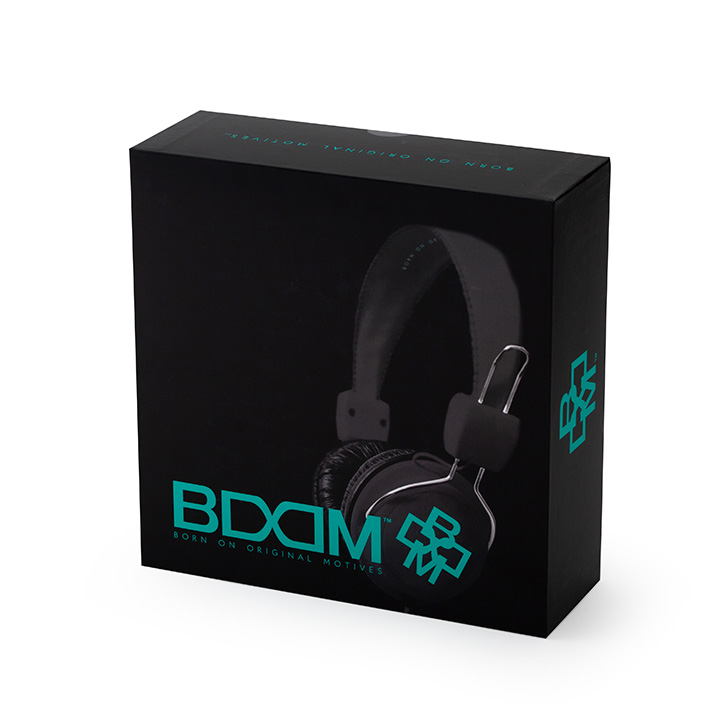 """BOOM ヘッドフォン RGGT """"Renegade"""" over ear"""