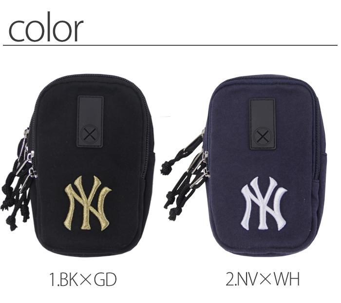 スマホポーチ メンズ レディース NY スマホ ポーチ おしゃれ NewYork MLB ブランド ニューヨーク ヤンキース タバコ アイコスケース かわいい ポケットポーチ ウエストポーチ バッグインバッグ 財布  iqos ケース【送料無料】