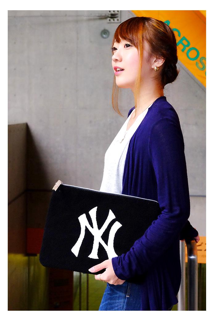 【送料無料】 NY クラッチバッグ メンズ レディース かわいい ファッション MLB グッズ 05P03Dec16