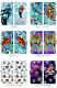 エドハーディー スマホケース 手帳型 全機種対応 iPhone13 ケース AQUOS R2 iPhoneSE iPhone7 plus iPhone11 Pro iPhoneXR Xperia android one S3 Ymobile huawei p20 lite デザイン Ed Hardy コラボ 携帯ケース カバー ベルトなし あり おしゃれ アメカジ ロック