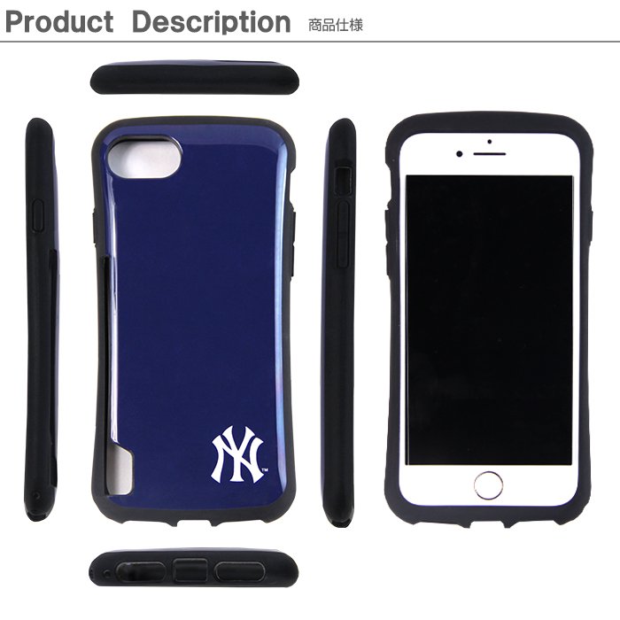 iPhone SE2 ケース iPhoneSE 2020 第2世代 第二世代 カバー iPhone8 iPhone7 MLB 正規品 メジャーリーグ 背面カード収納 アイフォンSE2 バンパー 電磁波防止シート付 耐衝撃 iPhoneケース メジャーリーグ ヤンキースドジャース レッドソックス かわいい おしゃれ