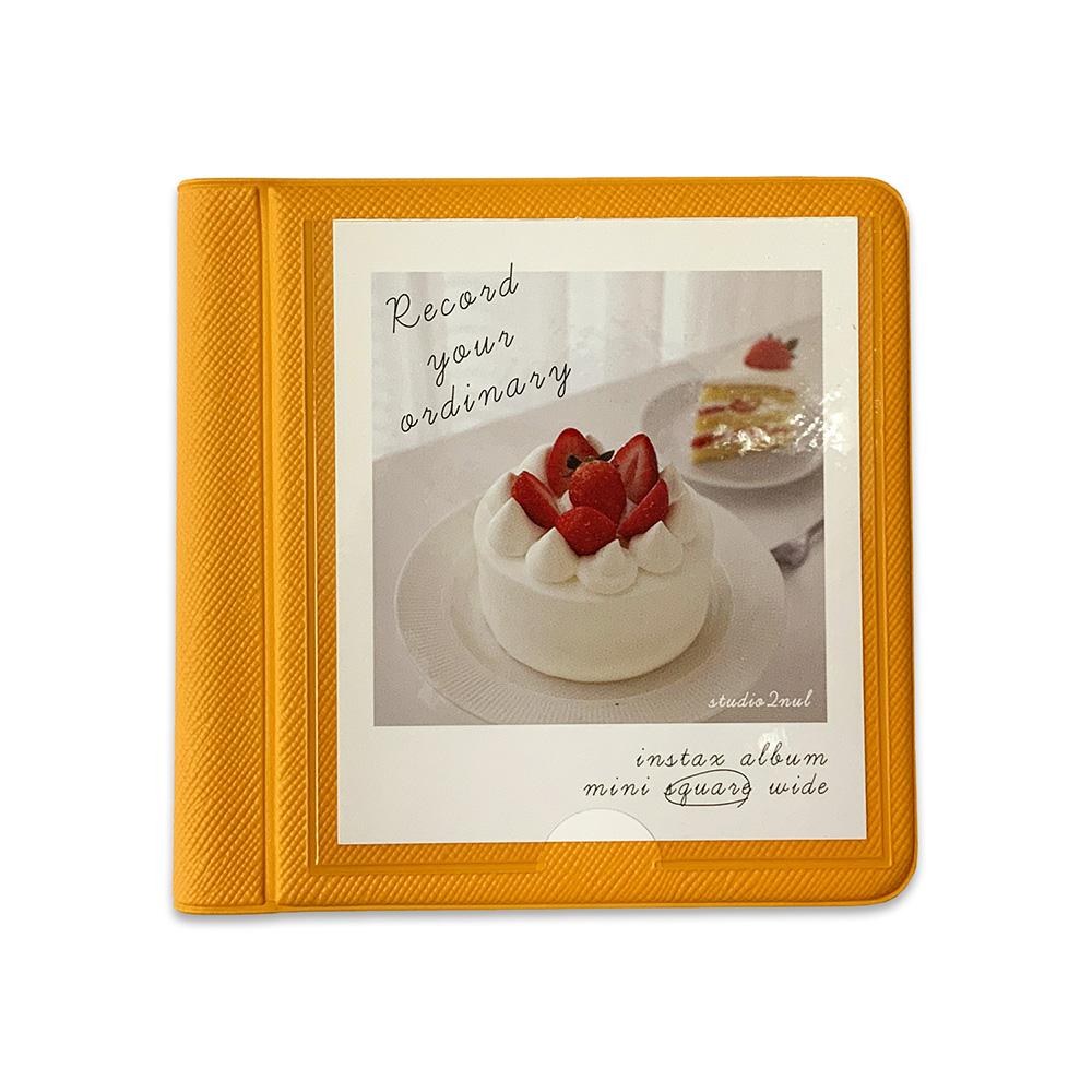 2NUL チェキスクエア アルバム INSTAX ALBUM SQ New (28枚収納+表紙1枚)