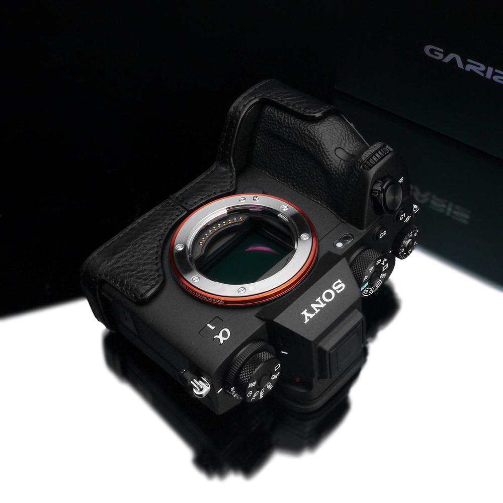 GARIZ SONY α1 用 本革カメラケース XS-CHA1BK ブラック