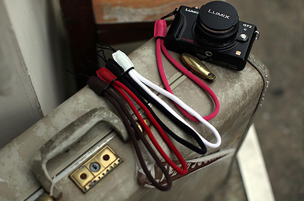 GARIZ DD-WSP3 ミラーレスカメラ用リストストラップ ブラウン