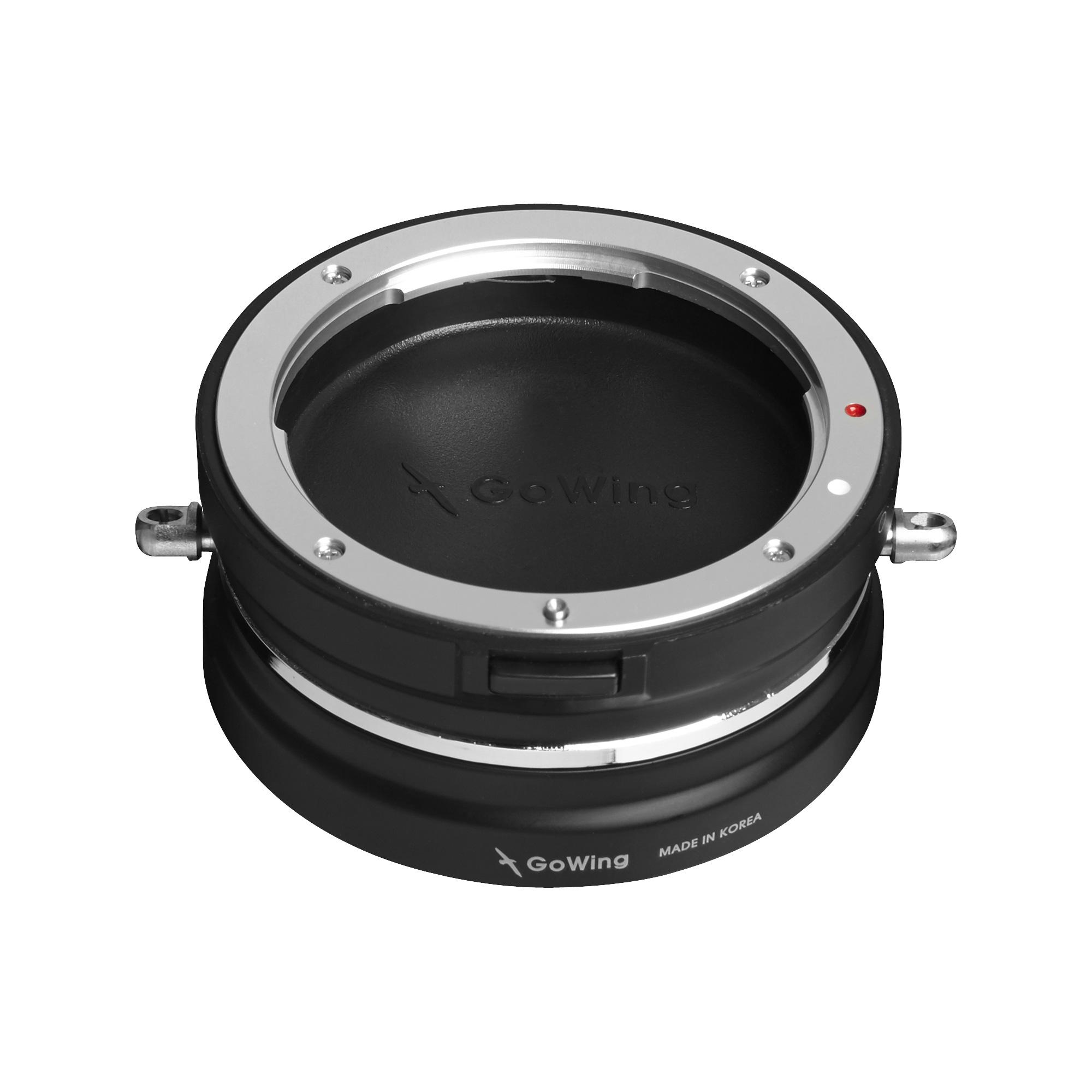 GoWing レンズホルダー・キャップ付き Canon EF-S,EFマウントレンズ用