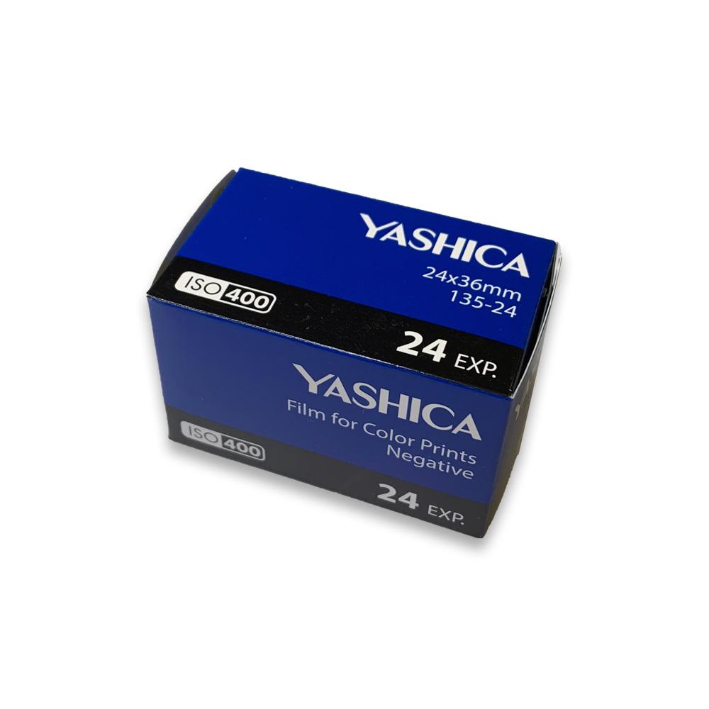 YASHICA ヤシカ カラーネガフィルム Color 400-135-24枚撮