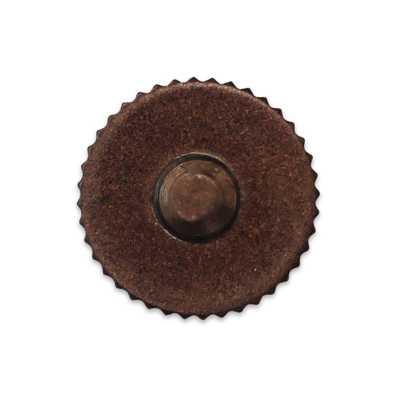 Kカンパニー レリーズボタン 10mm ブロンズ [ねじ込みタイプ]