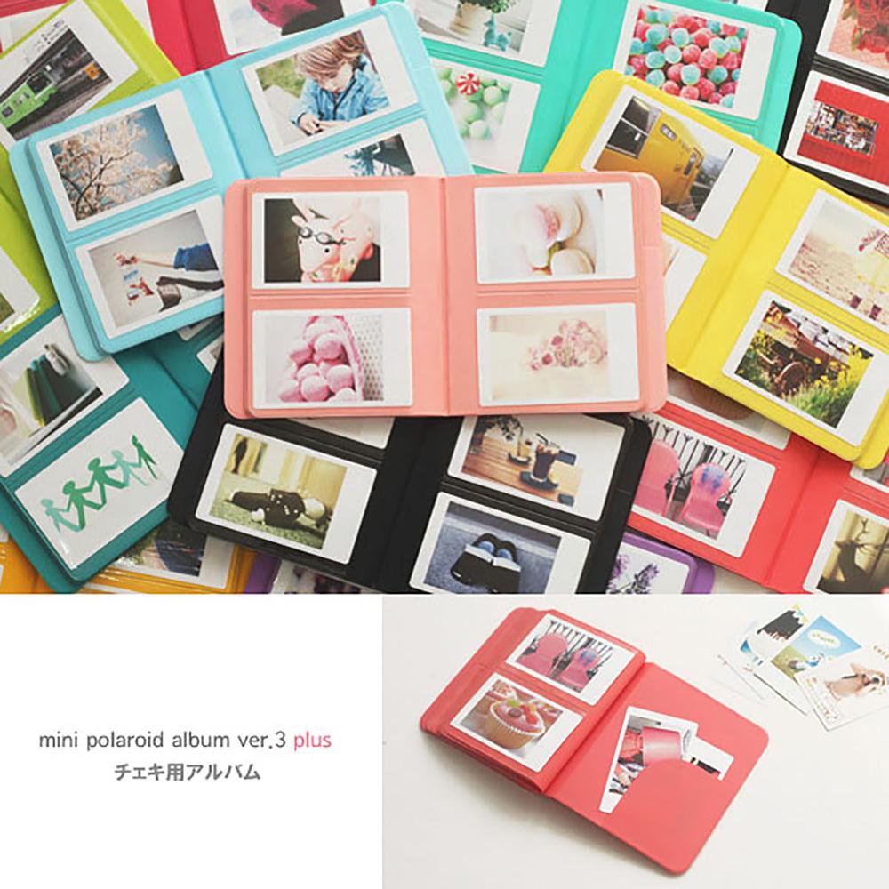 2nul チェキアルバム mini polaroid album Ver.3 Plus for Instax Mini (65枚収納)
