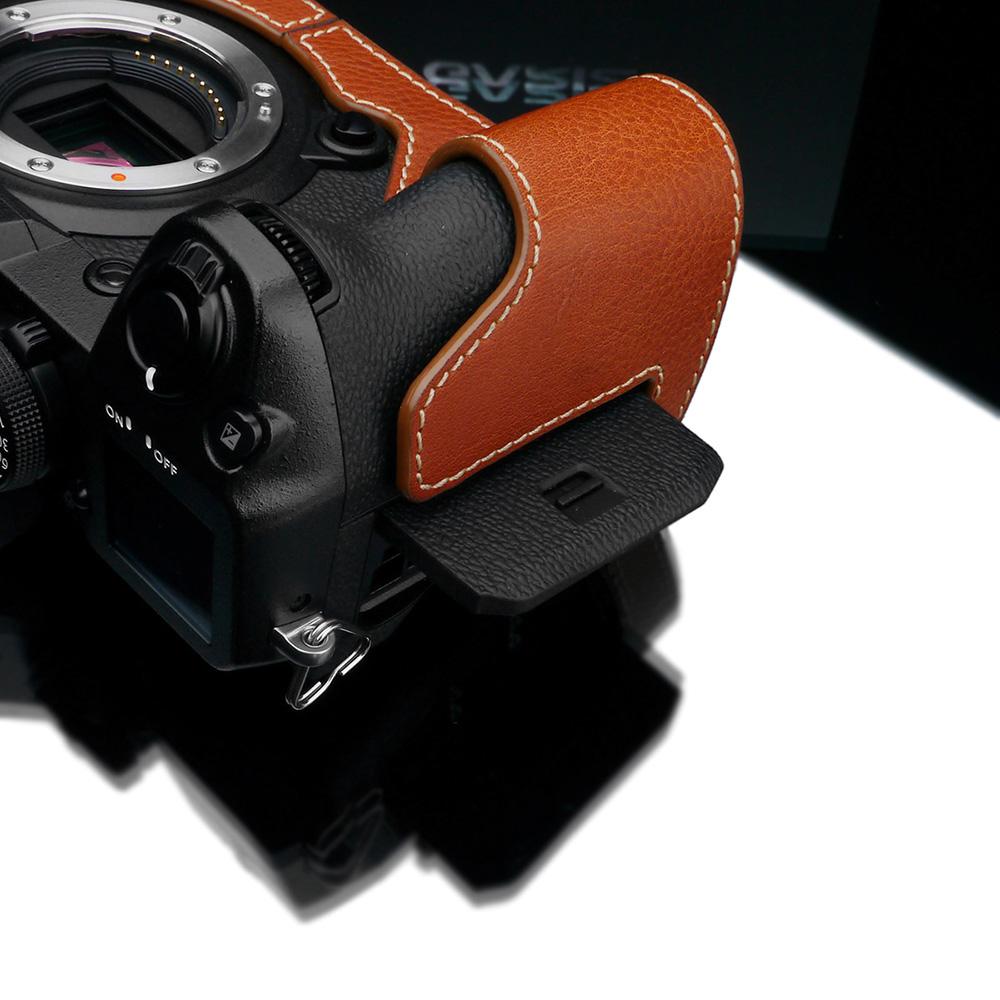 GARIZ FUJIFILM X-H1用 本革カメラケース XS-CHXH1CM キャメル