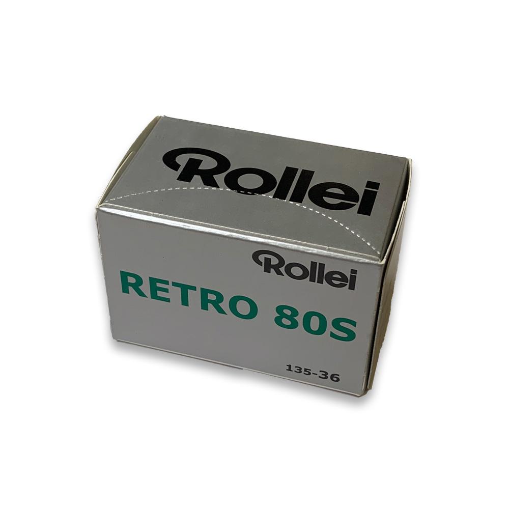Rollei ローライ 白黒フィルム Rollei Retro 80S 135-36枚撮り