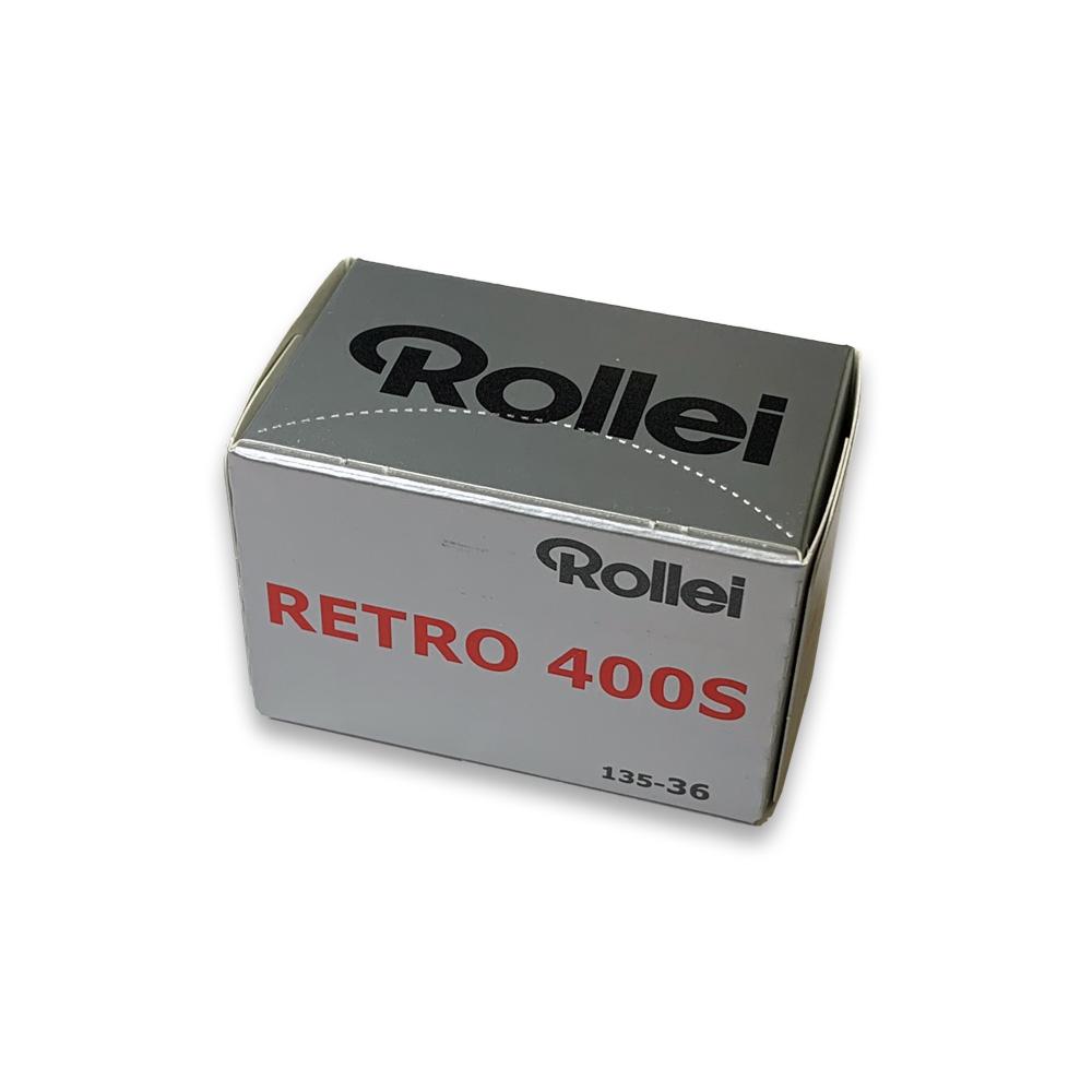 Rollei ローライ 白黒フィルム Rollei Retro 400S-135-36枚撮り