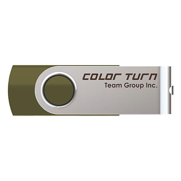 Team Japan USBメモリ Color Turn E902(グリーン) USB2.0 16GB TG016GE902GX