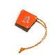 「写真が趣味のアマビエ」のバッグチャーム オレンジ