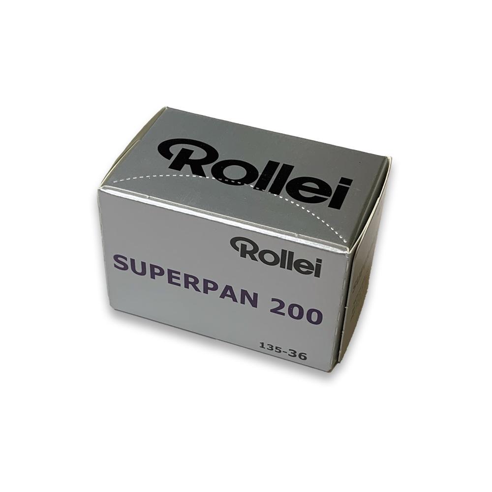 Rollei ローライ 白黒フィルム Rollei SUPERPAN 200-36枚撮り