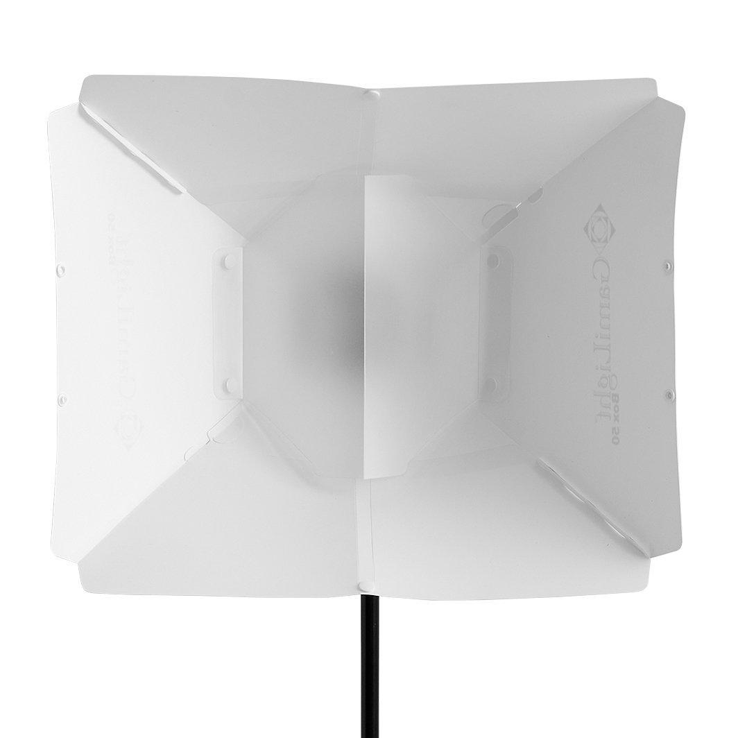 Gamilight(ガミライト) ボックス50 ホワイト/Box50 White (マウント付属) ストロボディフューザー