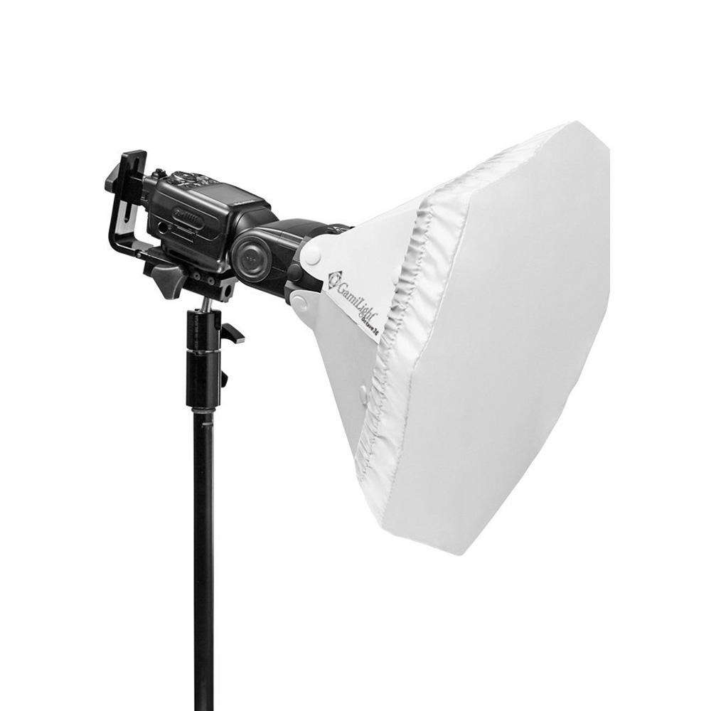 Gamilight(ガミライト) オクターブ36 ホワイト/Octave36 White (マウント付属) ストロボディフューザー
