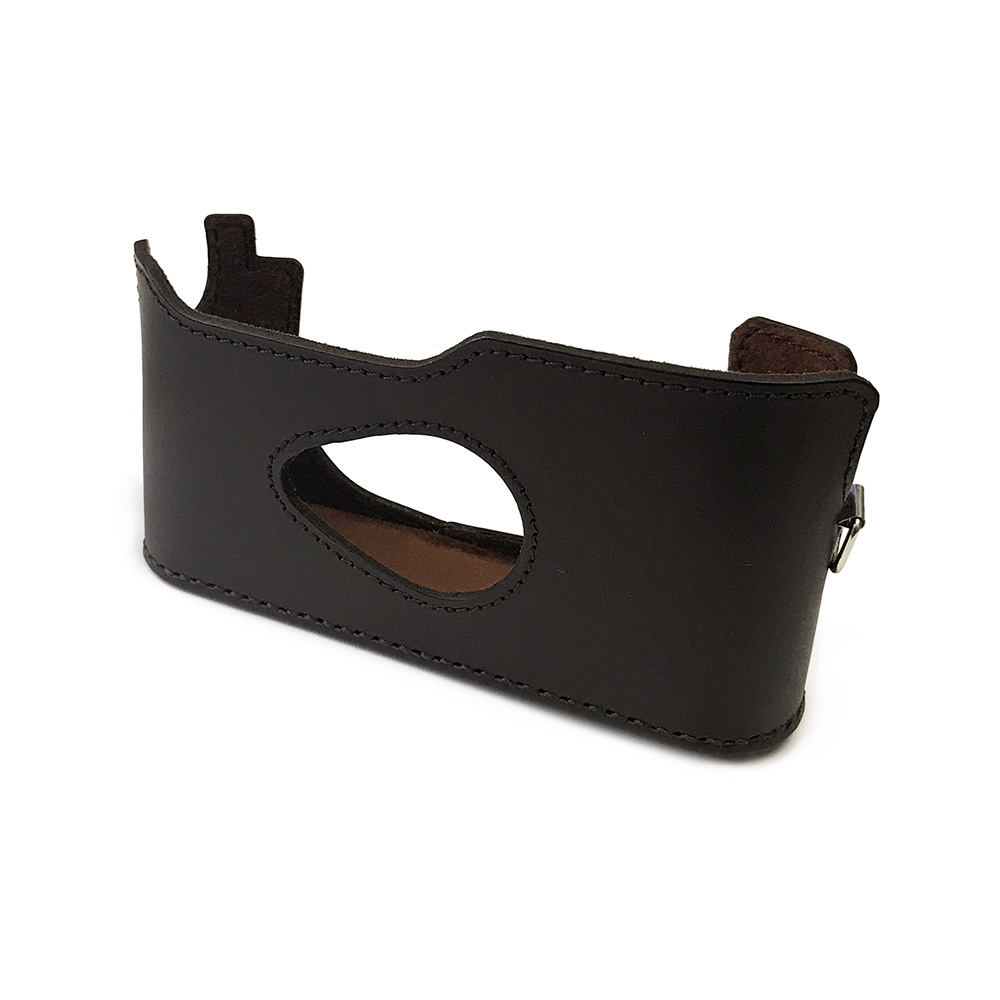 カメラ.ヒラノ Leica ライカ M6/M7用 ハンドメイド本革カメラケース(ストラップ付属) ブラウン