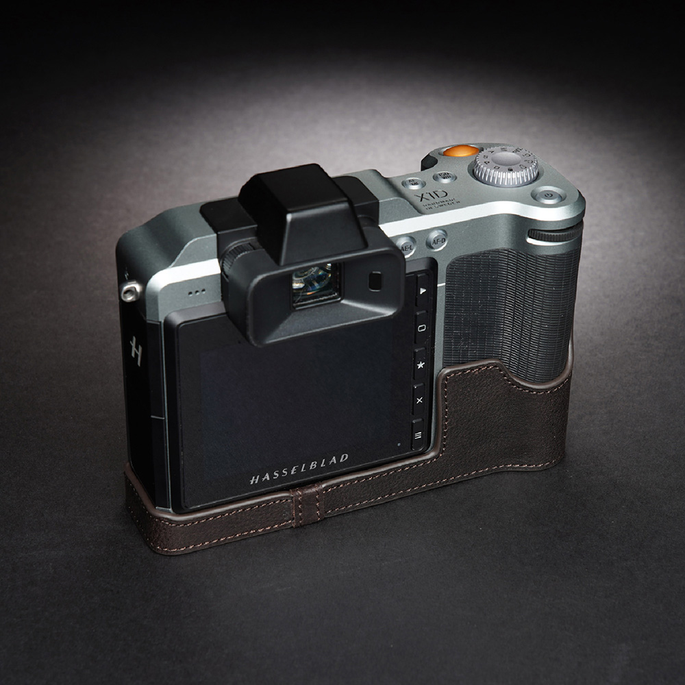 TP Original Hasselblad X1D II 50C 用 ボディーハーフケース ダークブラウン