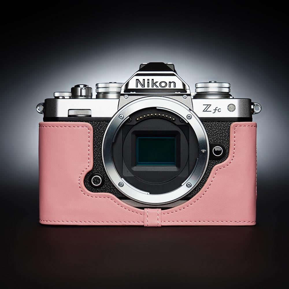 TP Original Nikon Z fc 用 ボディーハーフケース ピンク