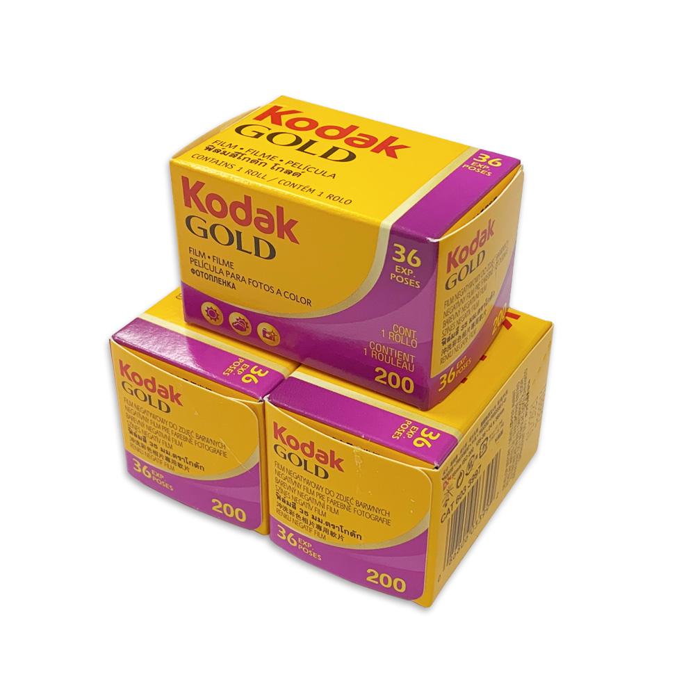 Kodak コダック カラーネガフィルム KODAK GOLD 200-135-36枚撮 3本セット