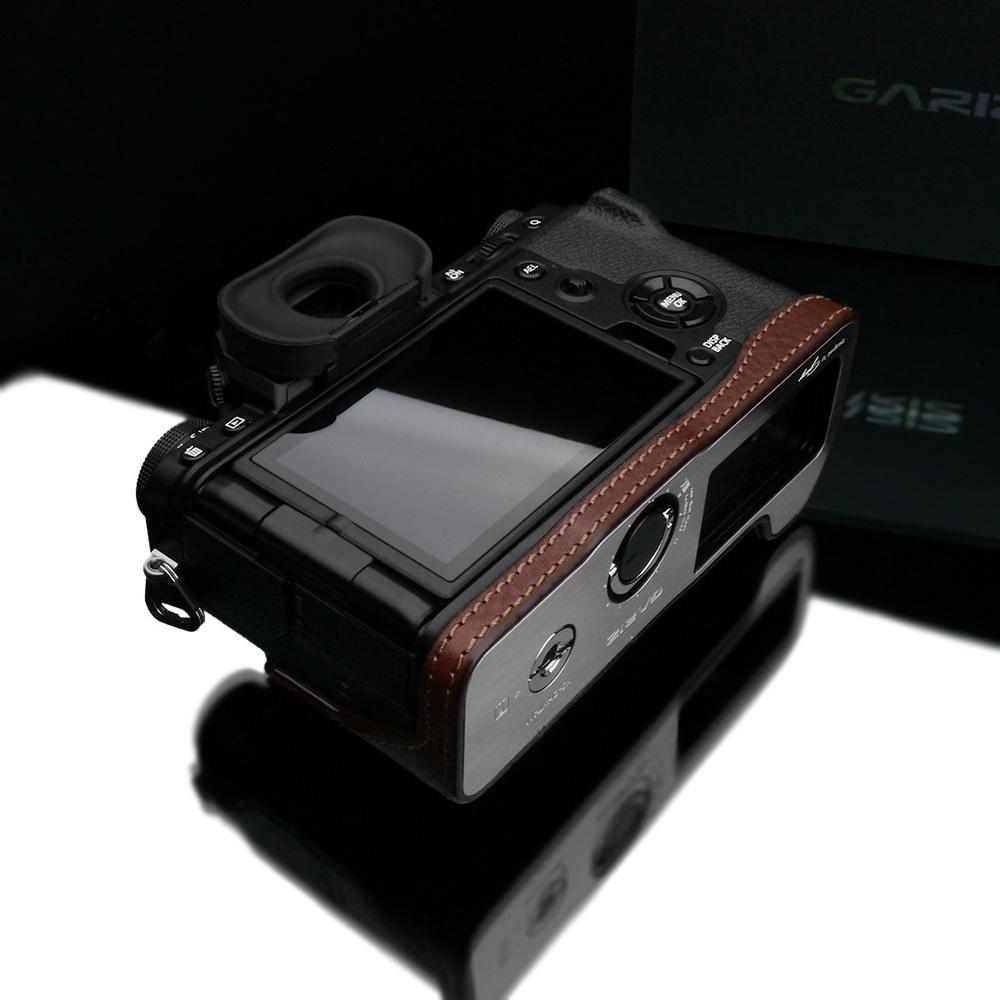 GARIZ FUJIFILM X-T4用 本革カメラケース XS-CHXT4BR ブラウン
