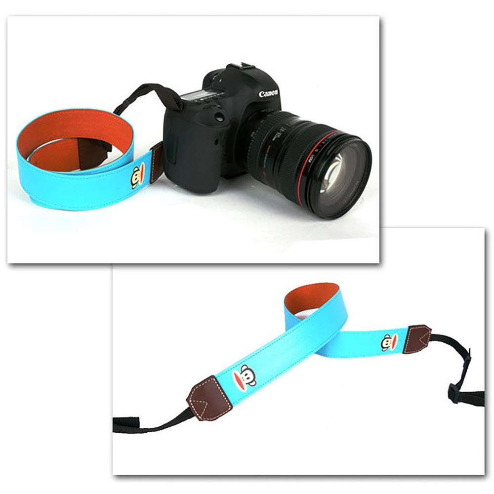 paul frank/ポールフランク SLR/DSLRカメラ用 ネックストラップ 13PF-SN06 BLUE ブルー