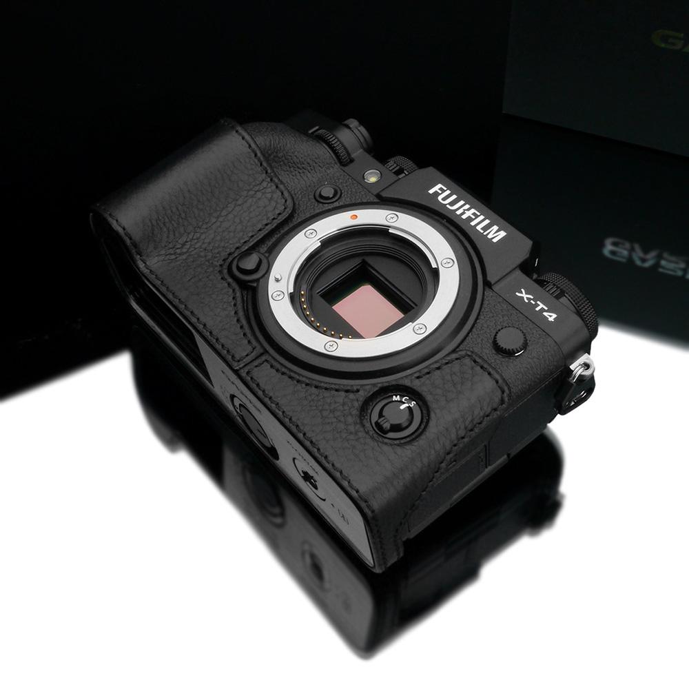 GARIZ FUJIFILM X-T4用 本革カメラケース XS-CHXT4BK ブラック