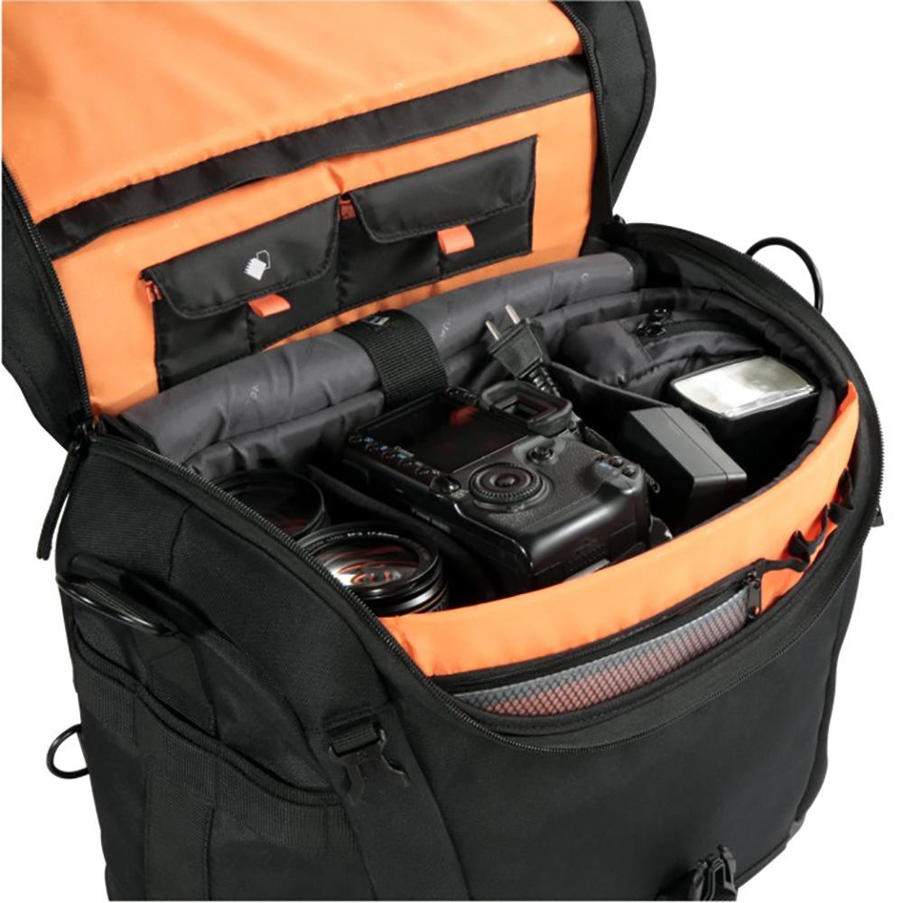 VANGUARD ショルダーバッグ The Heralderシリーズ 14.8L PCスペース有 三脚脱着可能 ブラック The Heralder 33