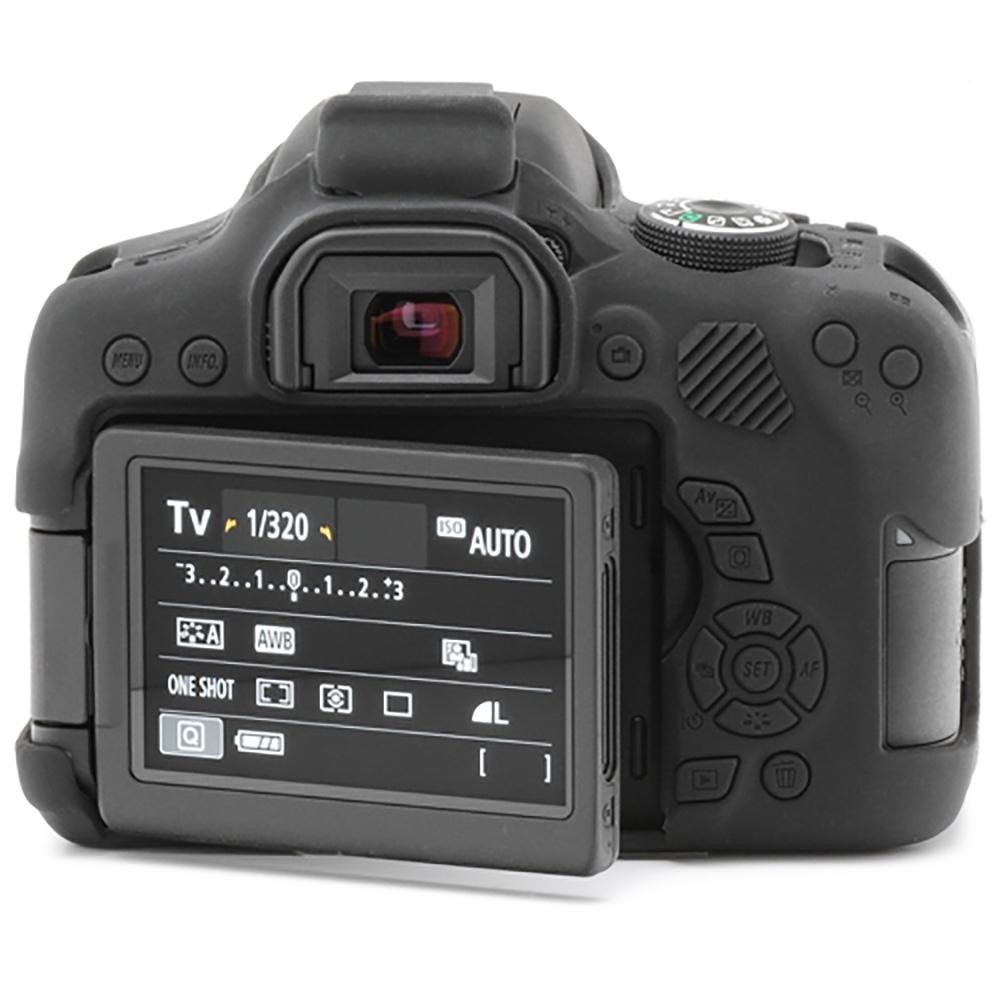 イージーカバー Canon EOS Kiss X8i 用 ブラック