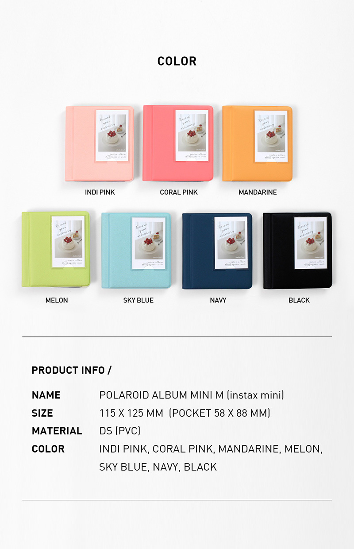 2NUL チェキアルバム INSTAX ALBUM MINI M New (56枚収納+表紙1枚)