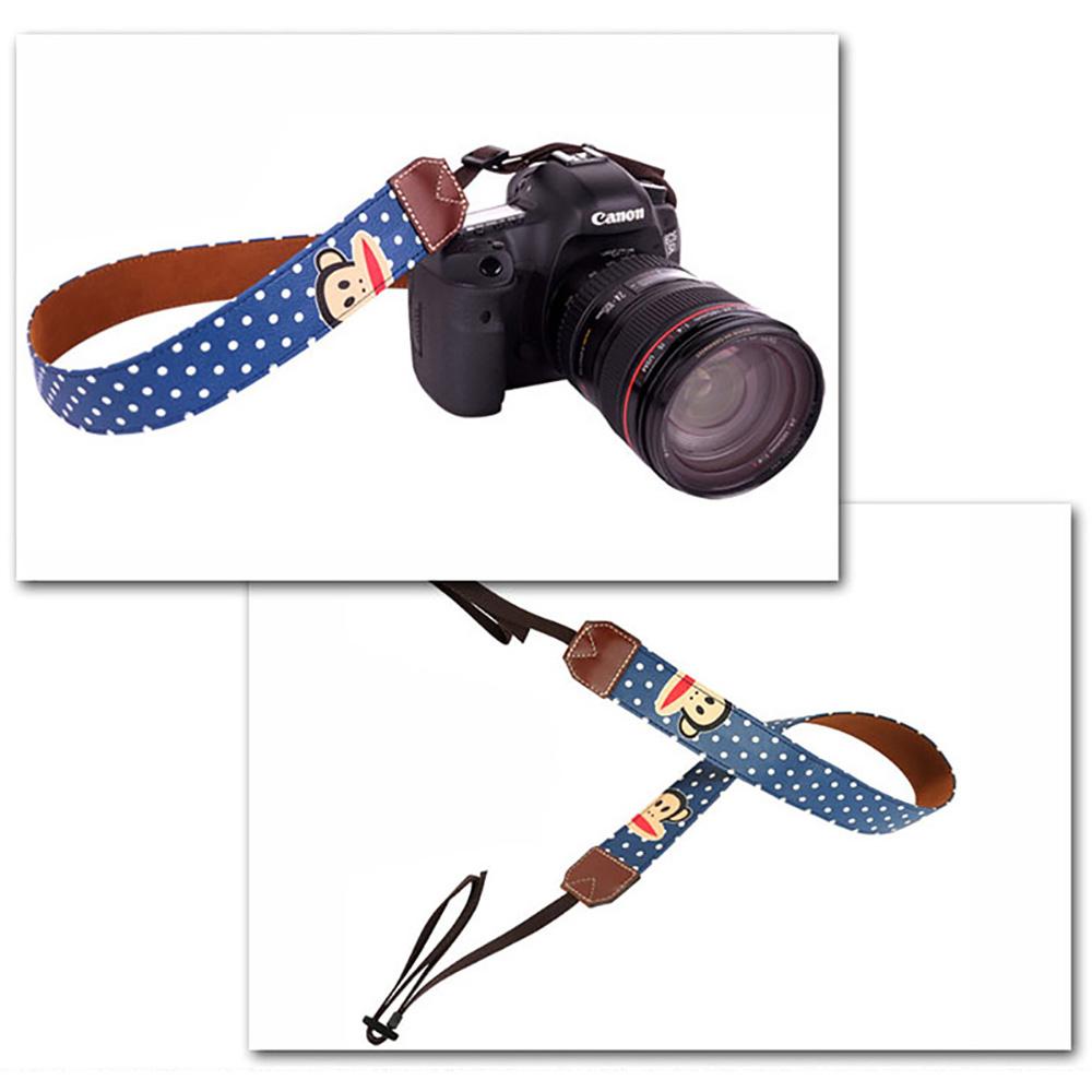 paul frank/ポールフランク SLR/DSLRカメラ用 ドット柄 ネックストラップ 13PF-SN21 NAVY ネイビー
