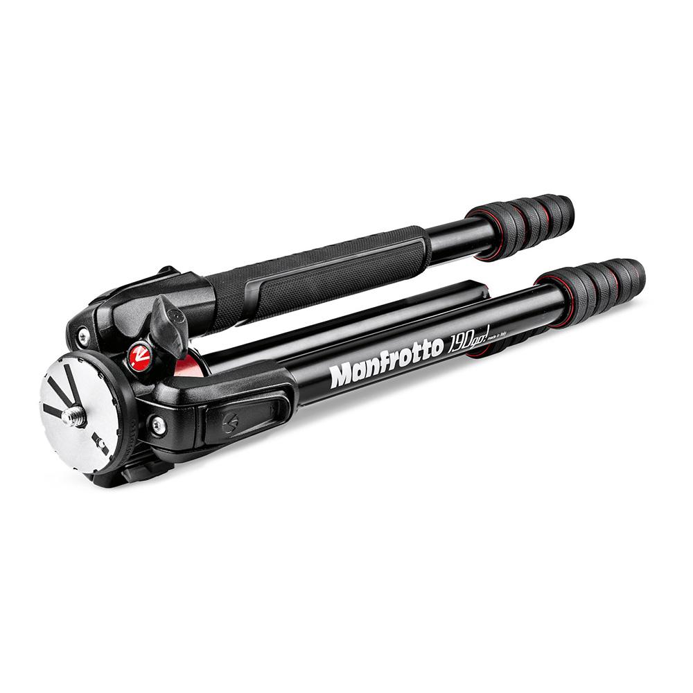 Manfrotto 190go! M-lock アルミニウム三脚4段 MT190GOA4