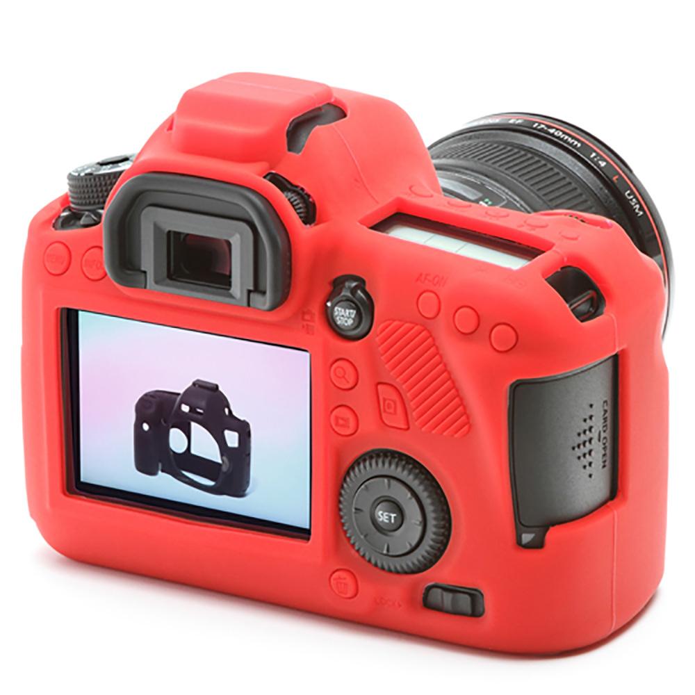 イージーカバー Canon EOS 6D 用 レッド