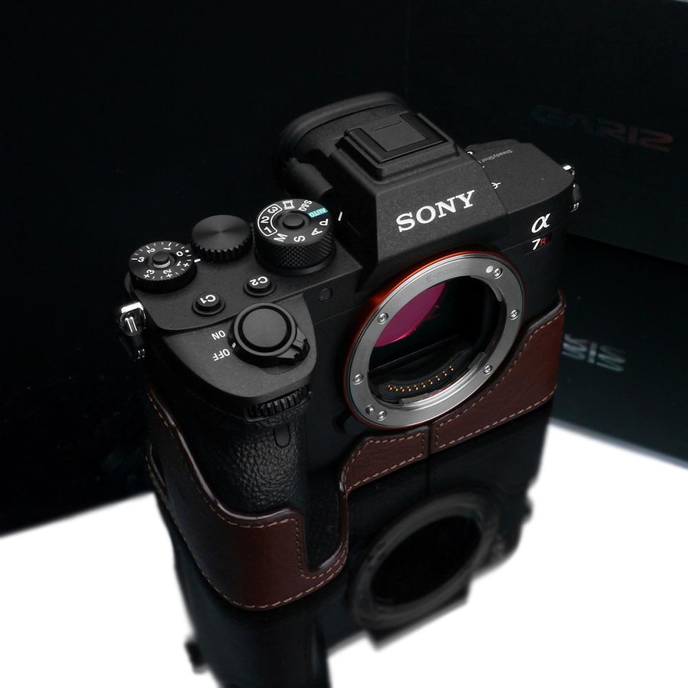 GARIZ SONY α7R IV 用 本革カメラケース XS-CHA7RM4BR ブラウン