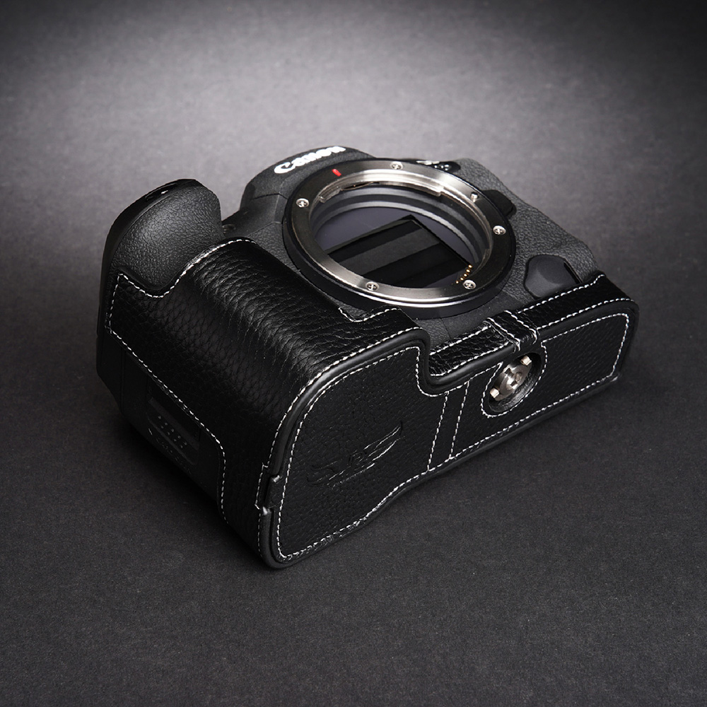 TP Original Canon EOS R5 用 ボディーハーフケース ブラック