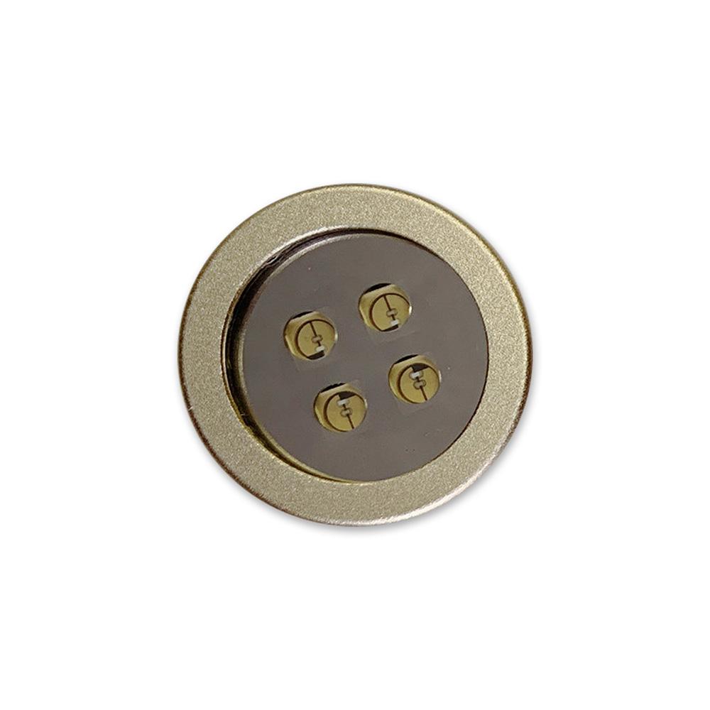 モバイル UVC-LED(深紫外線) クリーニングライト シャンパンゴールド