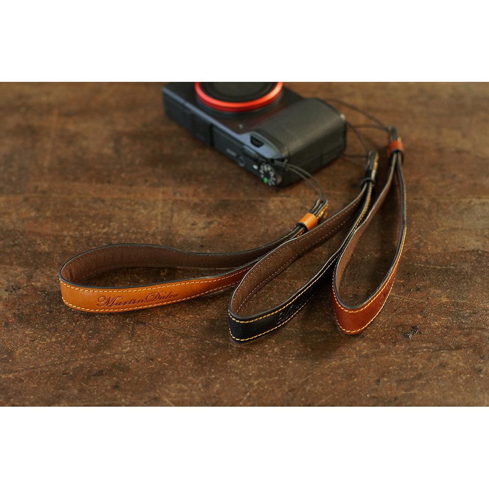 Martin Duke ミラーレス&コンパクトカメラ用ハンドストラップ Sven I Leather Hand strap Black DH01BK