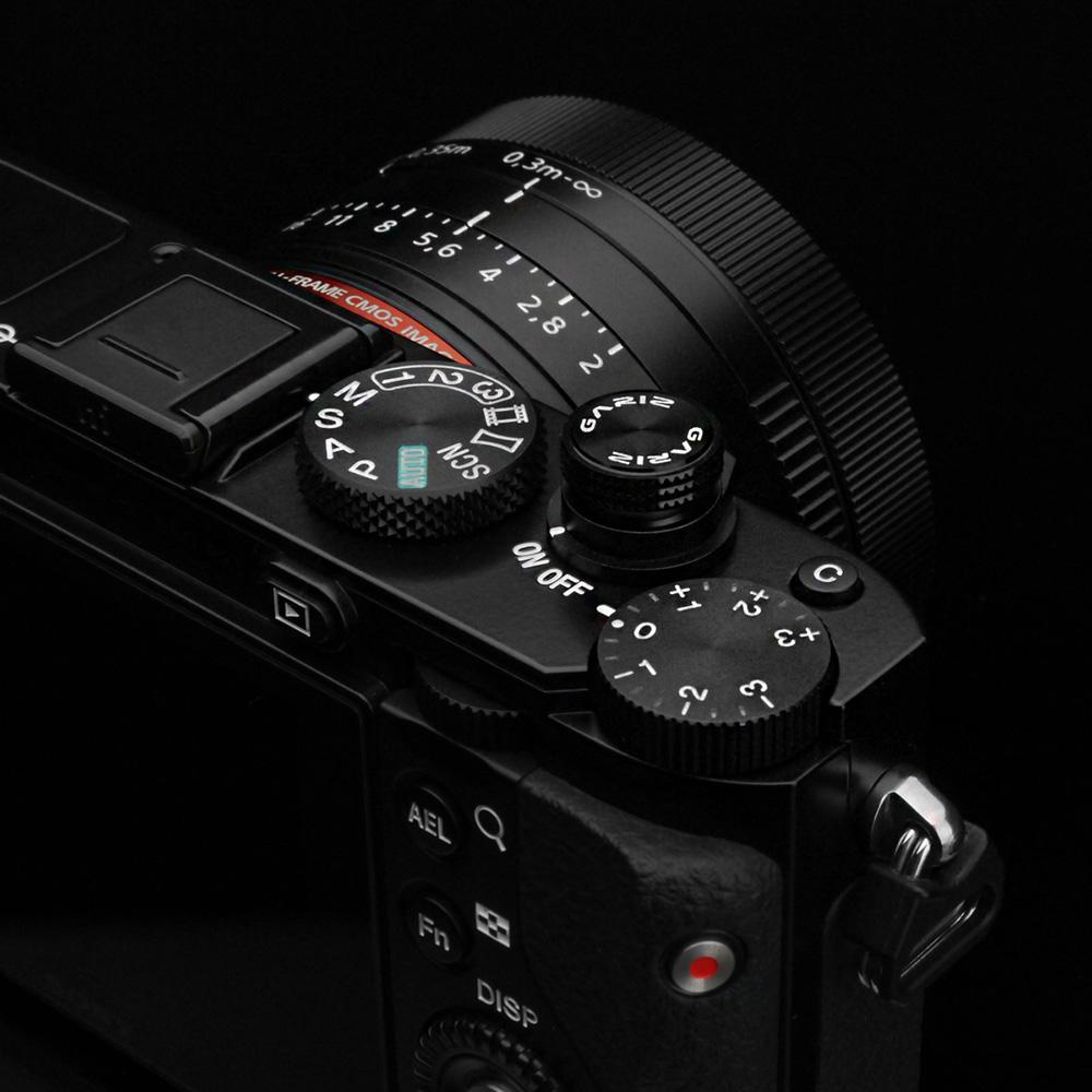GARIZ ソフトレリーズボタン(ネジ式) 12mm ブラック XA-SBA1