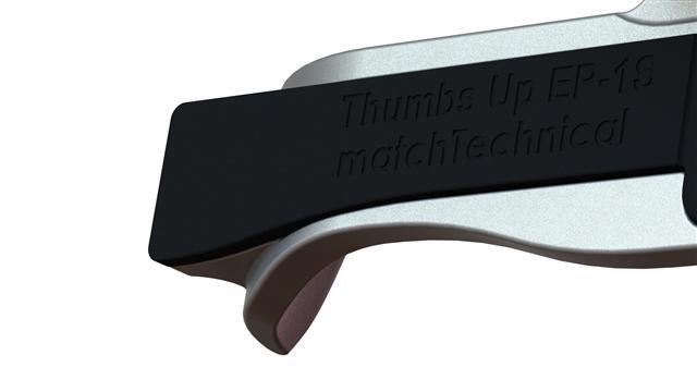Thumbs Up EP-1S サムズアップ 親指グリップ ライカM8/M9用 スチールグレー ショートタイプ