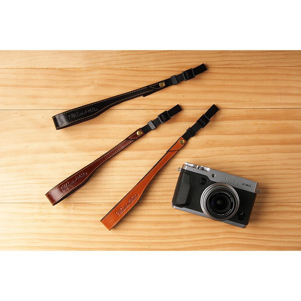 Martin Duke ミラーレス&コンパクトカメラ用ハンドストラップ Sven II Leather Hand strap Red Brown DH02RB