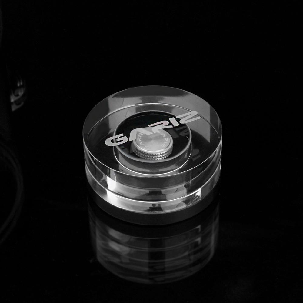 GARIZ ソフトレリーズボタン(貼付けタイプ) 12mm シルバー XA-SBA5