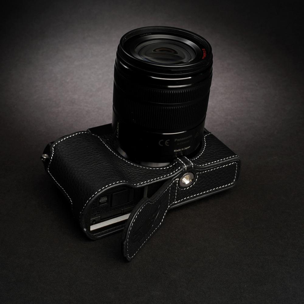 TP Original Panasonic LUMIX GX7 Mark III 用 ボディーハーフケース ブラック