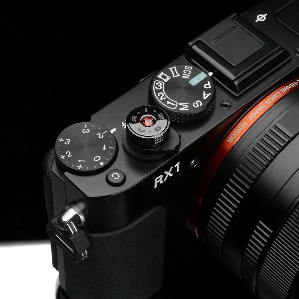 GARIZ ソフトレリーズボタン ネジ式 12mm ガーネット XA-SBAG