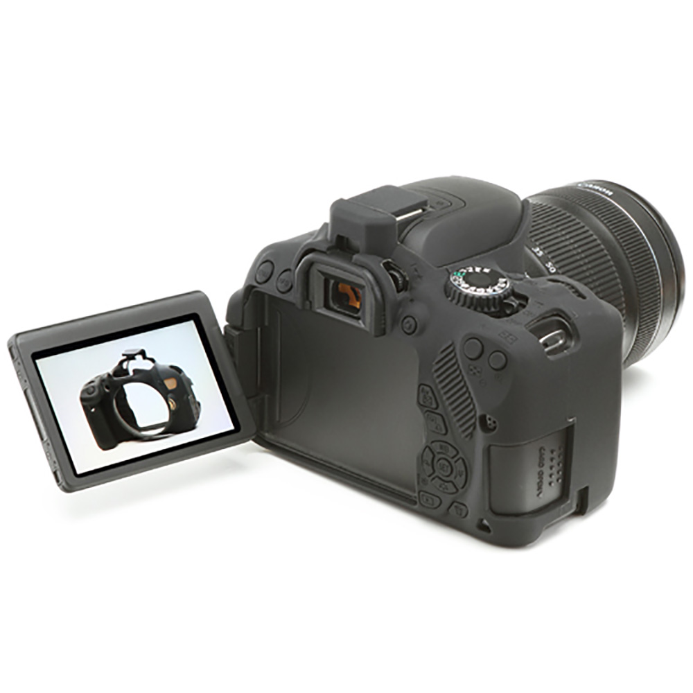 イージーカバー Canon EOS Kiss X6i & X7i 用 ブラック