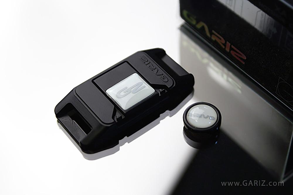 GARIZ ホットシューカバー ソフトボタン(シール式レリーズボタン)セット XA-SP1 ナイトグロウ