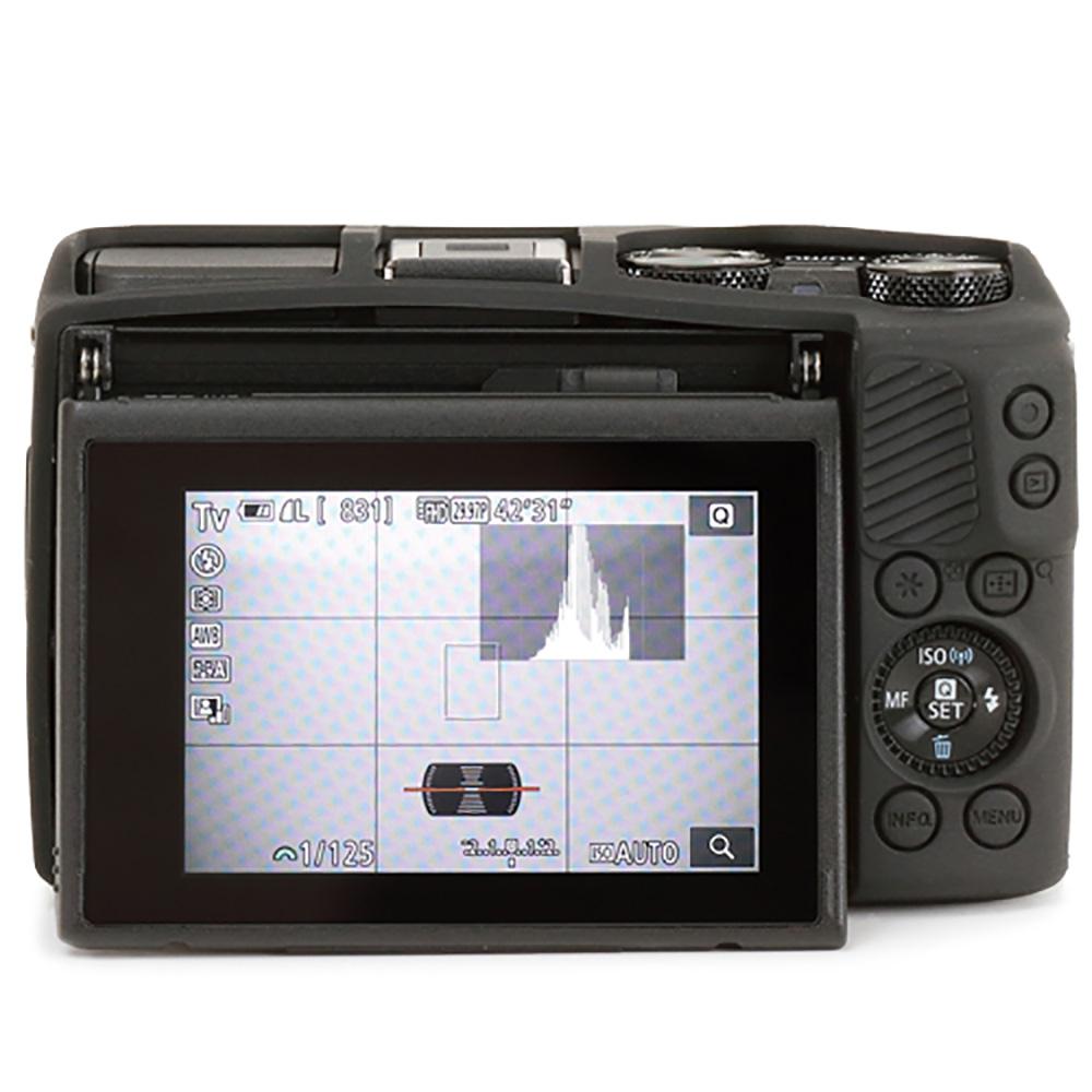 イージーカバー Canon EOS M3 用 ブラック